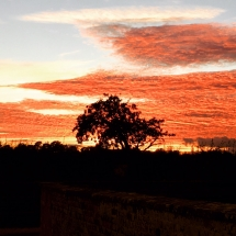 One of our many stunning sunsets